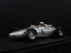 Spark S1867 1/43 Porsche 718 #6 Porsche System Engineering Monaco Grand Prix 1961 Hans Herrmann Resin Model Formula One F1 GP Racing Car