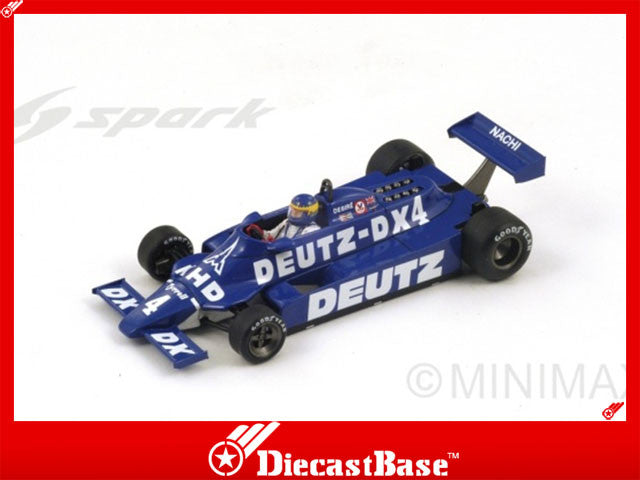 1/43 Tyrrell 010 Spark S1886  ~ top view ~ taken by DiecastBase