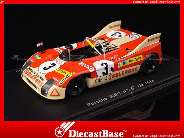 1/43 Porsche 908/3 Spark S1987  ~ top view ~ taken by DiecastBase