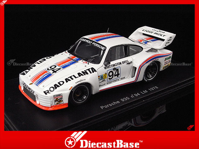 Spark S2014 1/43 Porsche 935 No.94 Le Mans 1978 D.Whittington - B.Whittington - F.Konrad 1:43 Diecast Model LM Racing Car