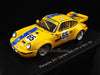 Spark S2076 1/43 Porsche 911 Carrera RSR No.65 24 Hours of Le Mans 1993 GT Class Heico Dienstleistungen Team Ulrich Richter - Dirk Rainer Ebeling - Karl-Heinz Wlazik Resin Model LM Racing Car