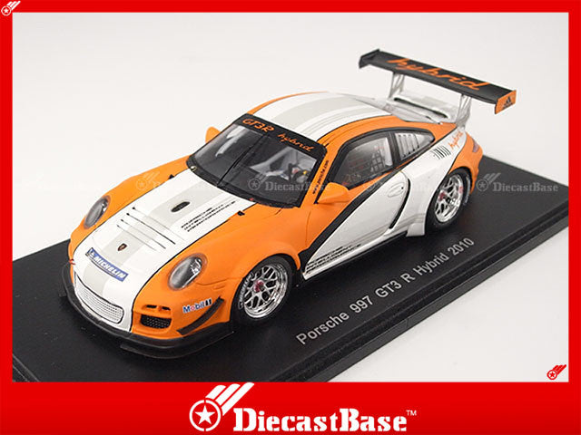 Spark S2088 1/43 Porsche 997 GT3 R Hybrid 2010 Resin Model Racing Car