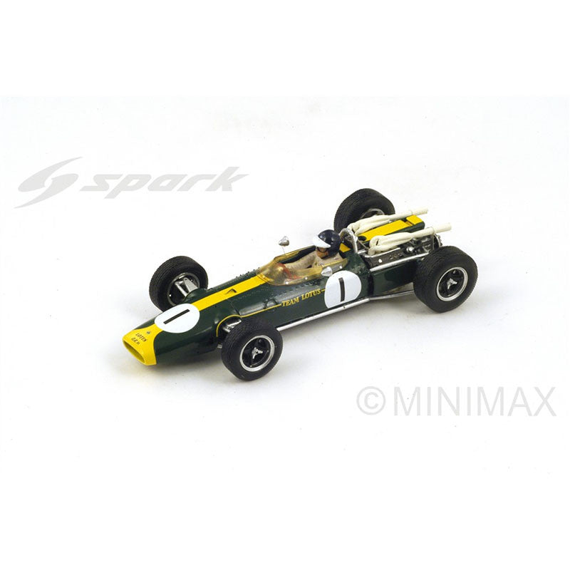 1/43 Lotus 43 BRM Spark S2143 Model Racing Car ~ top view ~ taken by DiecastBase