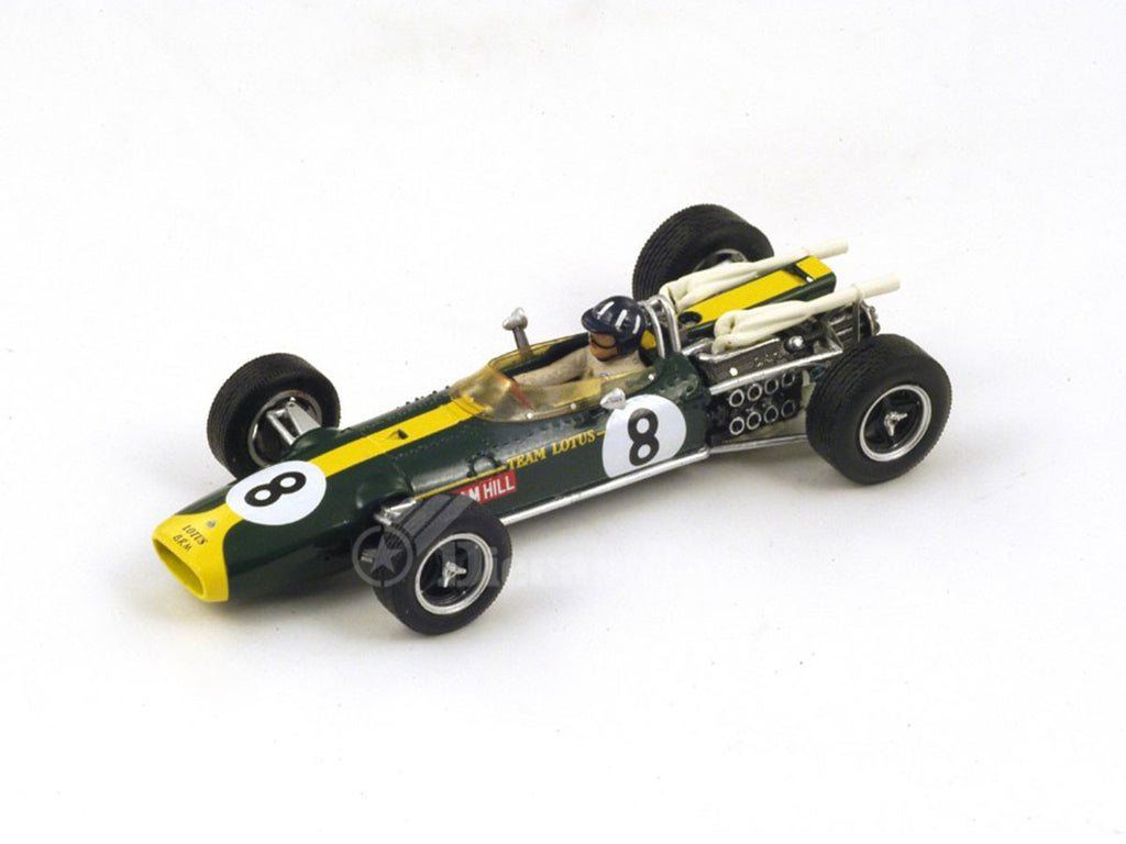 1/43 Lotus 43 BRM Spark S2144  ~ top view ~ taken by DiecastBase