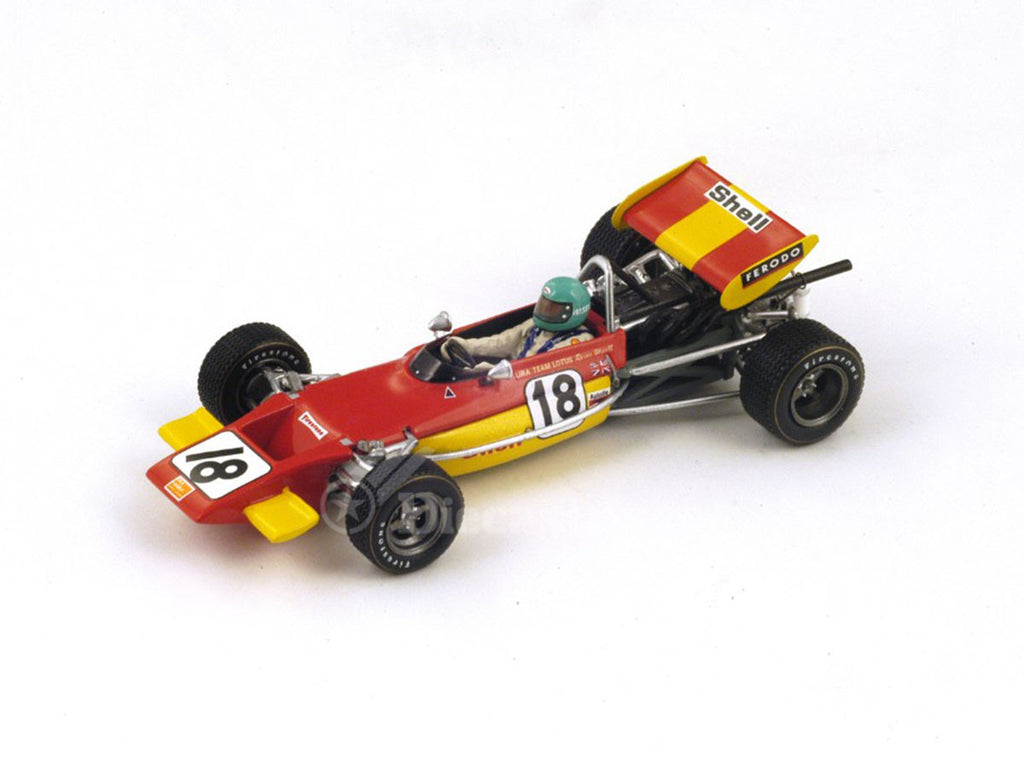 1/43 Lotus 69 Spark S2147  ~ top view ~ taken by DiecastBase