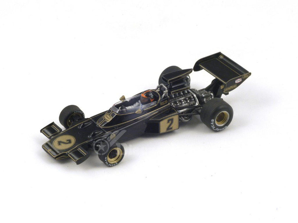 1/43 Lotus 72D Spark S2149  ~ top view ~ taken by DiecastBase