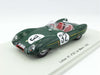 Spark S2183 1/43 Lotus XI No.32 24 Hours of Le Mans 1956 S 1.5 Class Lotus Engineering Team Colin Chapman - Herbert MacKay-Fraser Resin Model LM Racing Car