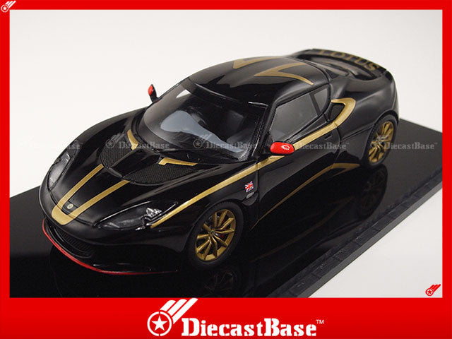 Spark S2200 1/43 Lotus Evora S 2011 Special Edition Black Resin Model Road Car