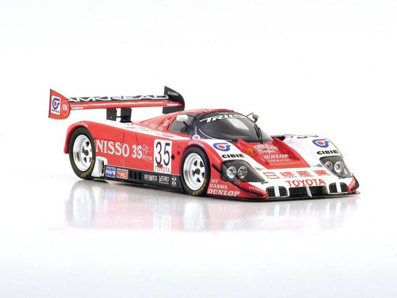 1/43 Toyota 92C-V Spark S2368 Model Racing Car ~ top view ~ taken by DiecastBase