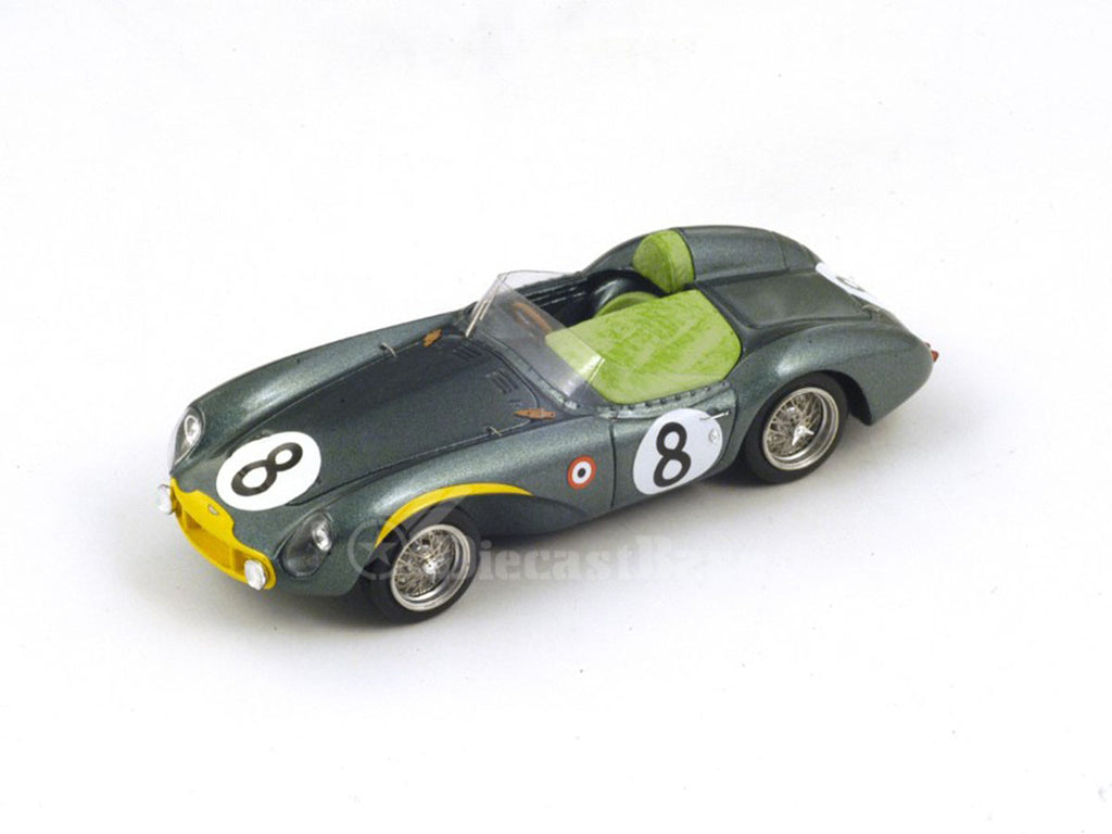 1/43 Aston Martin DB3S Spark S2409  ~ top view ~ taken by DiecastBase