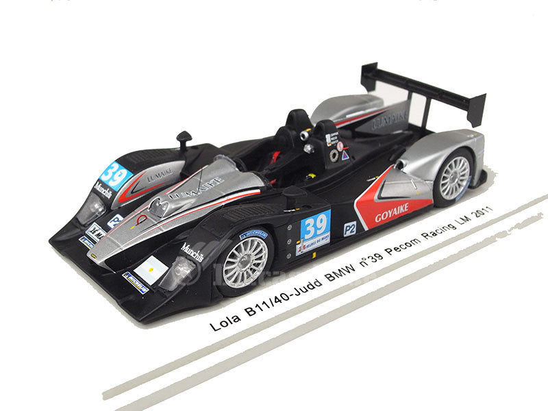 Spark S2531 1/43 Lola B11/40 No.39 24 Hours of Le Mans 2011 LMP2 Class PeCom Racing Team Luís Pérez Companc - Matías Russo - Pierre Kaffer Resin Models LM Racing Car