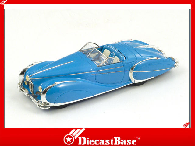 1/43 Delahaye 175 Soutchick Spark S2708  ~ top view ~ taken by DiecastBase