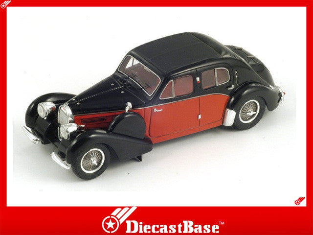 Spark S2709 1/43 Bugatti 57 Galibier 1939 Black & Red 1:43 Diecast Model Road Car