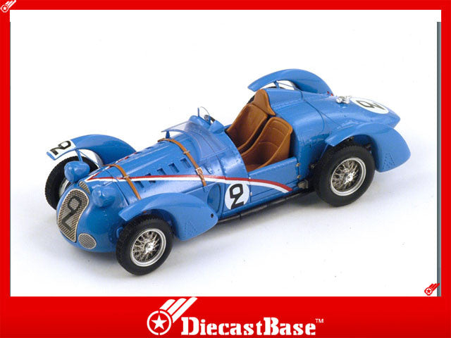 1/43 Delahaye 145 Spark S2726  ~ top view ~ taken by DiecastBase