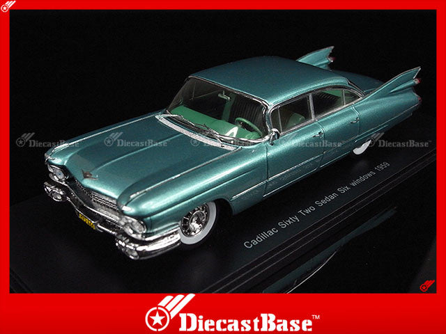 Spark S2913 1/43 Cadillac Sixty Two Sedan Six Windows 1959 1:43 Diecast Model Road Car