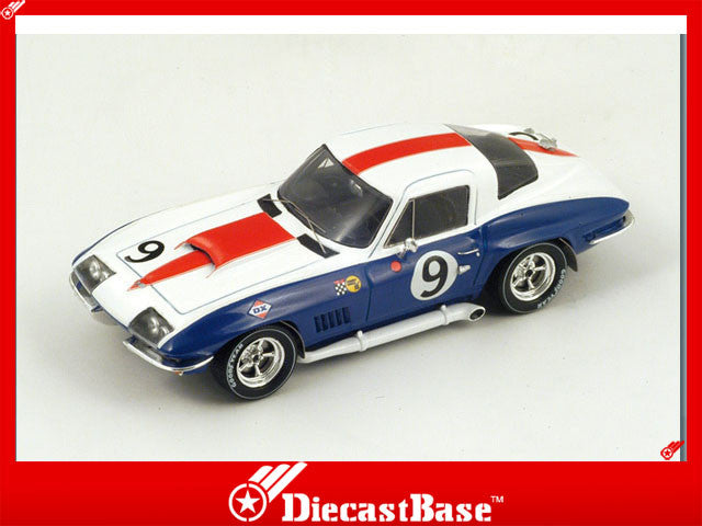 1/43 Chevrolet Corvette Spark S2972  ~ top view ~ taken by DiecastBase