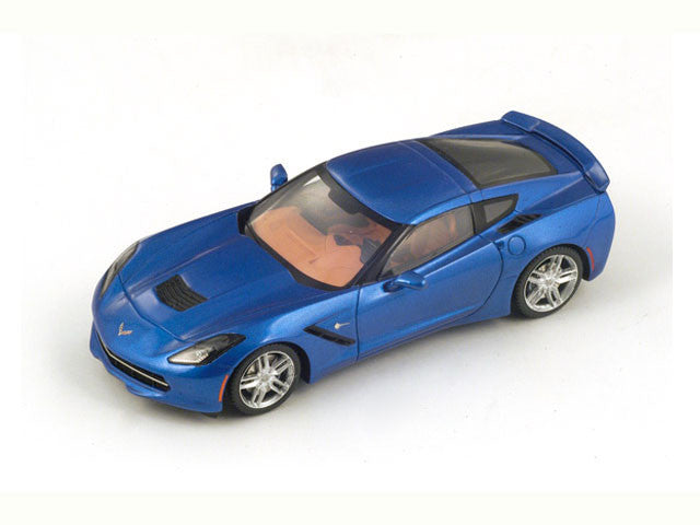 1/43 Chevrolet Corvette C7 Spark S2973  ~ top view ~ taken by DiecastBase
