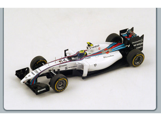 1/43 Williams FW36 Spark S3079  ~ top view ~ taken by DiecastBase