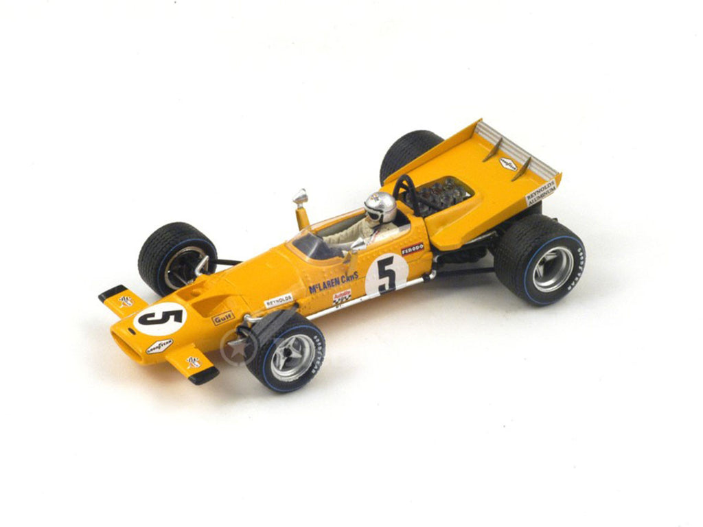 1/43 McLaren M7C Spark S3132  ~ top view ~ taken by DiecastBase