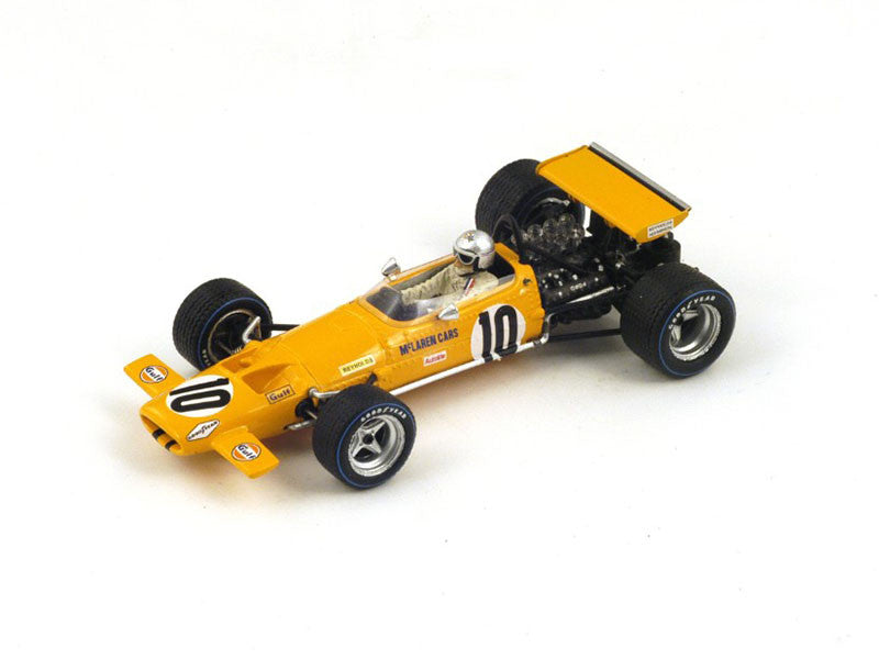 1/43 McLaren M7C Spark S3133  ~ top view ~ taken by DiecastBase
