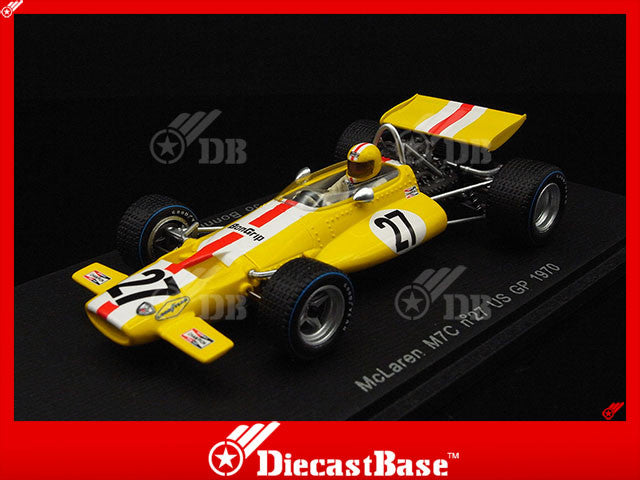 Spark S3135 1/43 McLaren M7C #27 US Grand Prix 1970 McLaren-Ford Team Jo Bonnier Resin Model Formula One F1 GP Racing Car