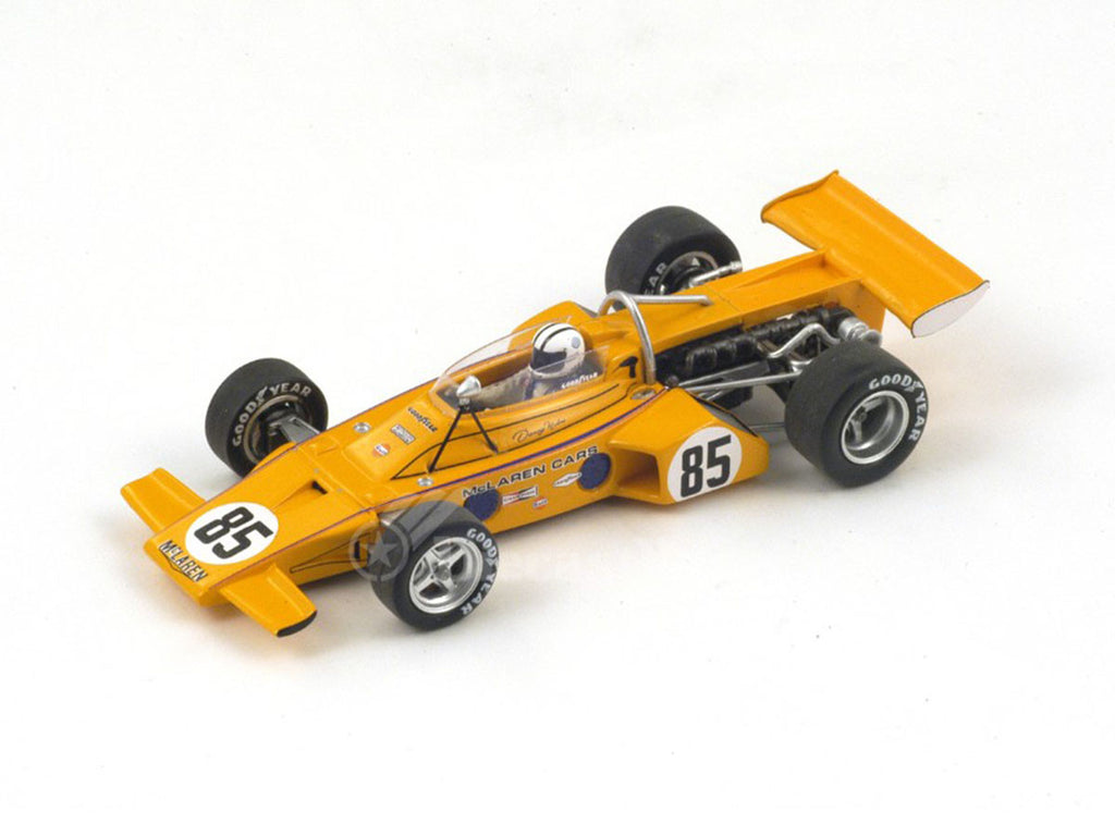 1/43 McLaren M16 Spark S3139  ~ top view ~ taken by DiecastBase