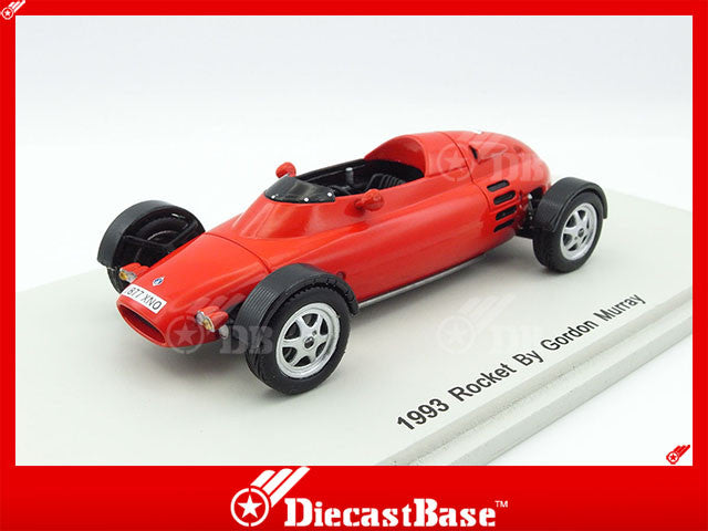 Spark S3152 1/43 Rocket 1993 Designed by Gordon Murray Red Spark Models Diecast Model Road Car