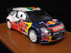 Spark S3307 1/43 Citroen DS3 WRC No.2 Winner Portugal Rally 2011 Sebastien Ogier - Julien Ingrassia Red Bull Resin Model Racing Car
