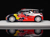Spark S3326 1/43 Citroen DS3 WRC No.1 Winner Rallye Monte Carlo 2012 S.Loeb - D.Elena Red Bull 1:43 Diecast Model Racing Car