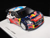Spark S3327 1/43 Citroen DS3 WRC No.2 4th Rallye Monte Carlo 2012 Jarmo Lehtinen - Mikko Hirvonen Red Bull Resin Rally Models Racing Car