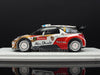 Spark S3354 1/43 Citroën DS3 WRC No.2 4th Monte Carlo Rally 2013 Mikko Hirvonen - Jarmo Lehtinen Spark Models Diecast Model Rally Racing Car