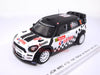 Spark S3362 1/43 Mini John Cooper Works WRC No.12 10th Rallye Monte Carlo 2013 Lotos Team WRC - Michał Kościuszko - Maciej Szczepaniak Spark Models Diecast Model Rally Racing Car