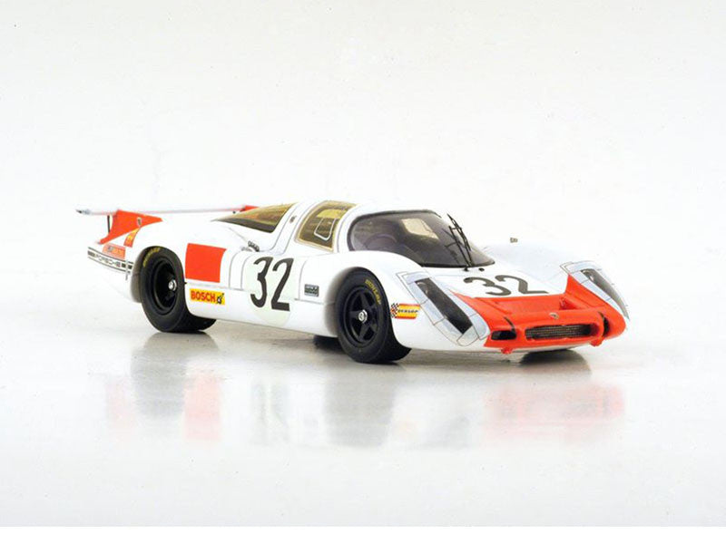 Spark S3482 1/43 Porsche 908 No.32 24 Hours of Le Mans 1968 P 3.0 Class Porsche System Engineering Team Gerhard Mitter - Vic Elford Resin Models LM Racing Car