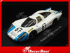 Spark S3499 1/43 Porsche 907/8 #67 24 Hours of Le Mans 1968 P 3.0 Class Philippe Farjon Team Robert Buchet - Herbert Linge Resin Model LM Racing Car