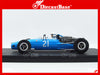 Spark S3517 1/43 Cooper T81 #21 Monaco Grand Prix 1966 Guy Ligier Resin Model F1 GP Formula One Racing Car