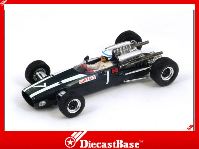 1/43 Cooper T81 Spark S3521  ~ top view ~ taken by DiecastBase