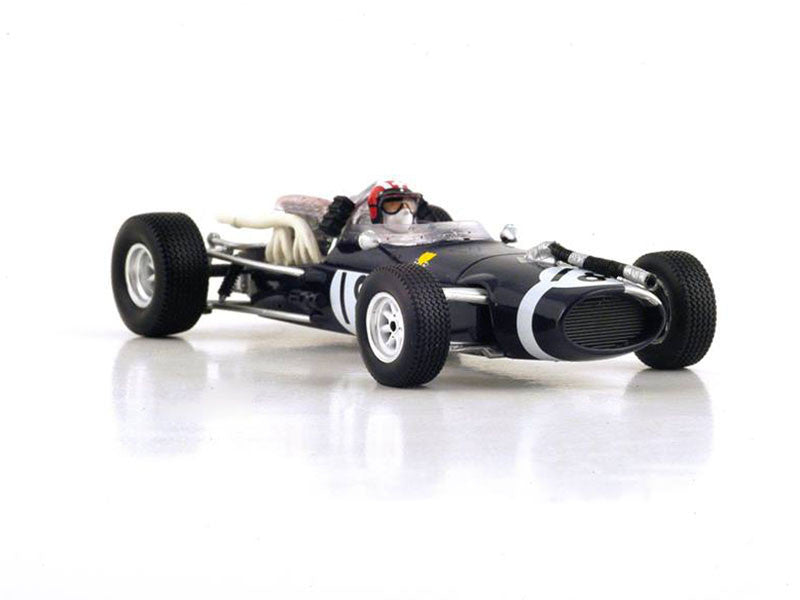 Spark S3525 1/43 Cooper T81 #18 4th French Grand Prix 1967 Cooper-Maserati Team Jo Siffert Resin Models F1 GP Racing Car