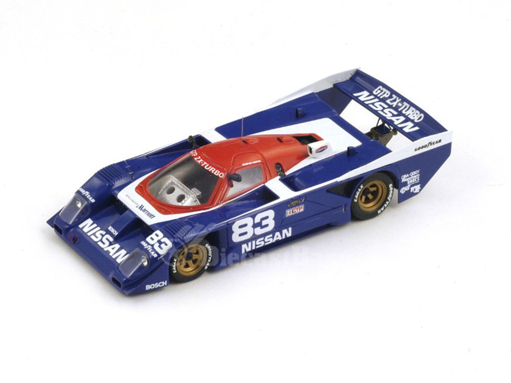 1/43 Nissan GTP ZX-Turbo Spark S3583  ~ top view ~ taken by DiecastBase