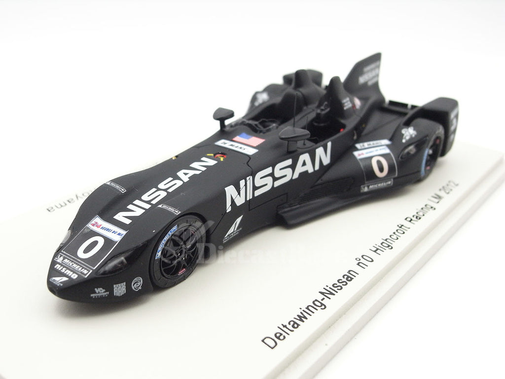 Spark S3741 1/43 Deltawing No.0 24 Hours of Le Mans 2012 Highcroft Racing Team Marino Franchitti - Michael Krumm - Satoshi Motoyama Resin Models LM Racing Car