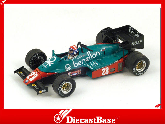 1/43 Alfa Romeo 184T Spark S3870  ~ top view ~ taken by DiecastBase