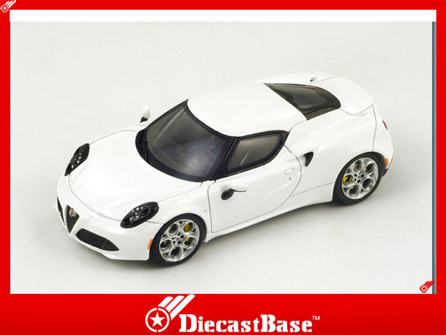 1/43 Alfa Romeo 4C Spark S3894  ~ top view ~ taken by DiecastBase