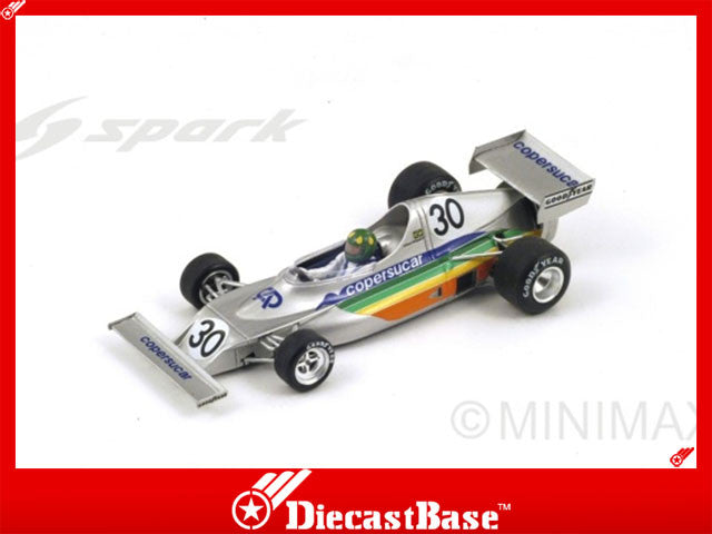 1/43 Fittipaldi FD01 Spark S3934  ~ top view ~ taken by DiecastBase