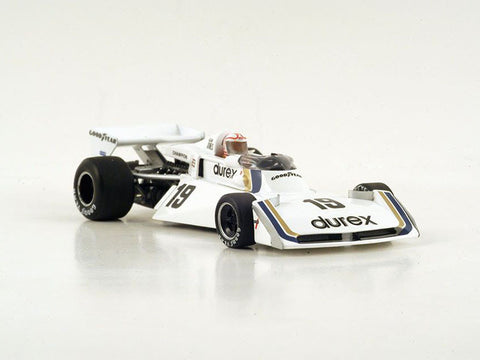 Spark S4006 1/43 Surtees TS19 #19 5th British Grand Prix 1976 Durex Team Surtees - Alan Jones Resin Model Racing Car
