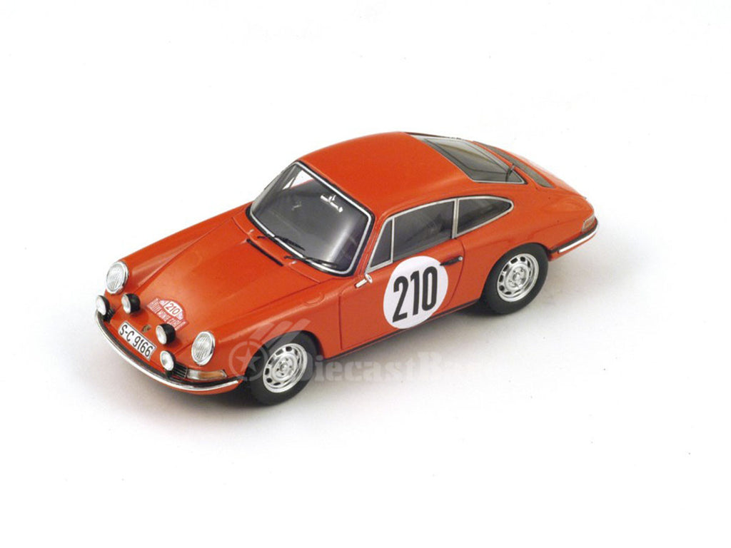 1/43 Porsche 911T Spark S4021  ~ top view ~ taken by DiecastBase