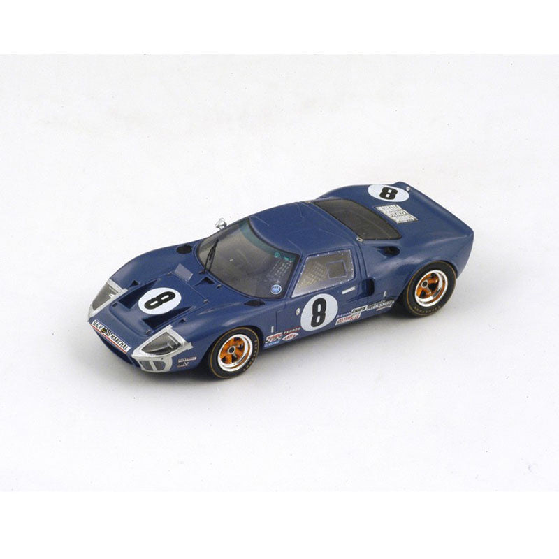1/43 Ford GT40 Mk I Spark S4067 Model Racing Car ~ top view ~ taken by DiecastBase