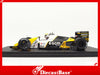 Spark S4110 1/43 Minardi M189 #23 Minardi F1 Team 5th British Grand Prix 1989 Pierluigi Martini Resin Model F1 GP Racing Car