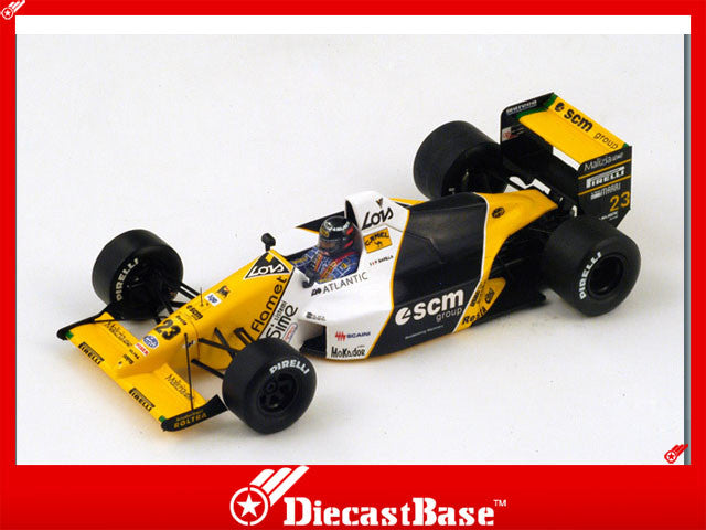 1/43 Minardi M189 Spark S4112  ~ top view ~ taken by DiecastBase
