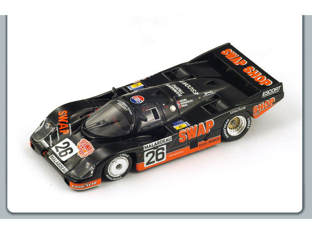 1/43 Porsche 956 Spark S4171  ~ top view ~ taken by DiecastBase