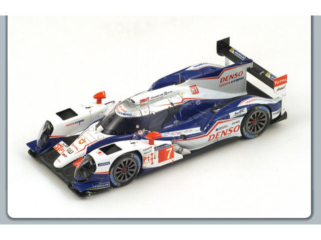 1/43 Toyota TS040 Hybrid Spark S4202  ~ top view ~ taken by DiecastBase