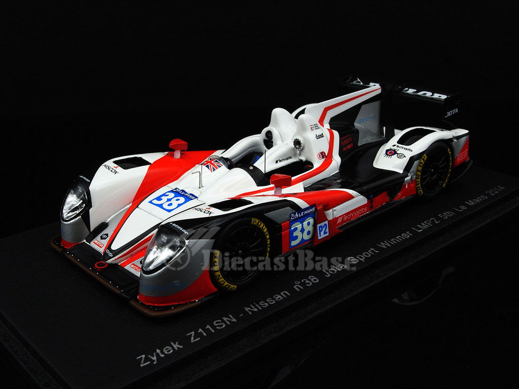 Spark S4219 1/43 Zytek Z11SN - Nissan #38 Winner LMP2 Le Mans 2014 Jota Sport - Simon Dolan - Harry Tincknell - Oliver Turvey Resin Model LM Racing Car